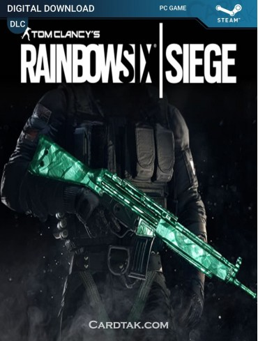 Rainbow Six Siege Emerald Weapon Skin (Region Free)