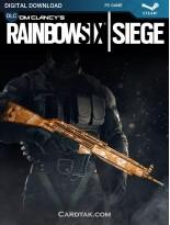 Tom Clancy's Rainbow Six Siege Topaz Weapon Skin (Steam)