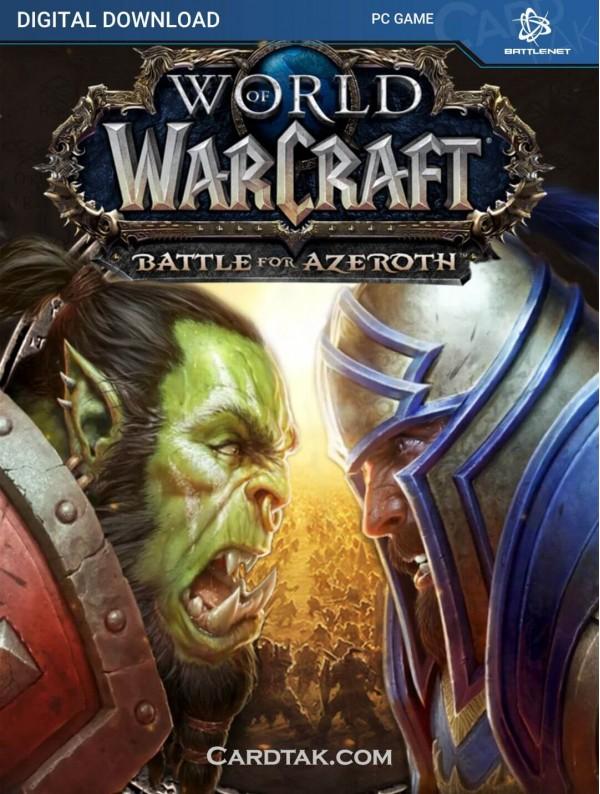 World of Warcraft Battle for Azeroth DLC - Battle.net CD Key (Battle.net)