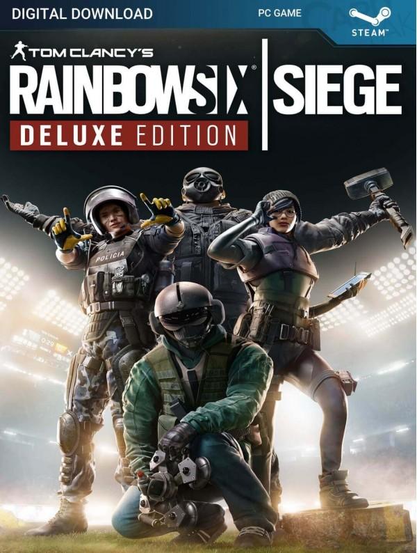 سی دی کی بازی Tom Clancy's Rainbow Six Siege Deluxe Edition