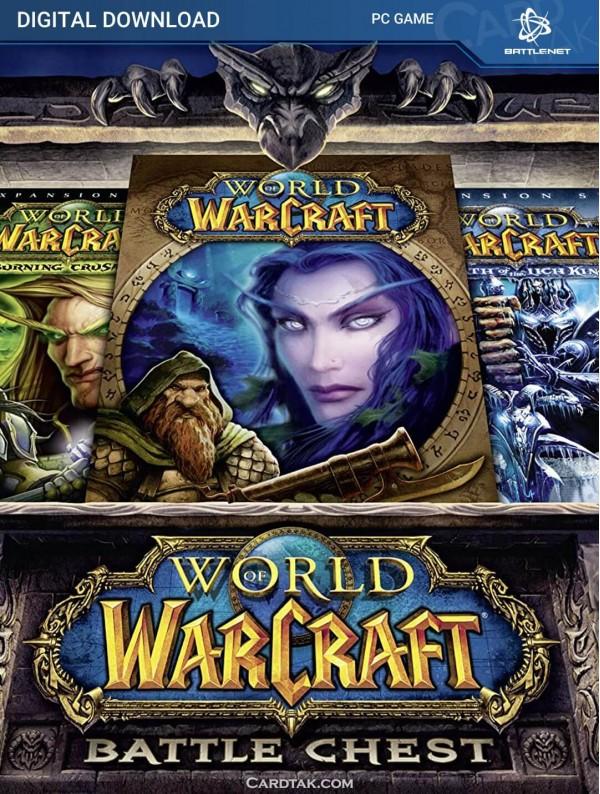 World of Warcraft Battlechest + 30 Day - Battle.net CD Key (EU)