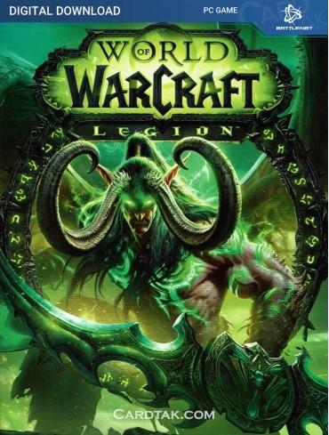 World of Warcraft Legion DLC - Battle.net CD Key (EU)