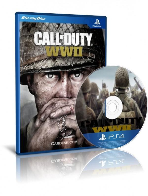 دیسک بازی Call of Duty WW 2 PS4