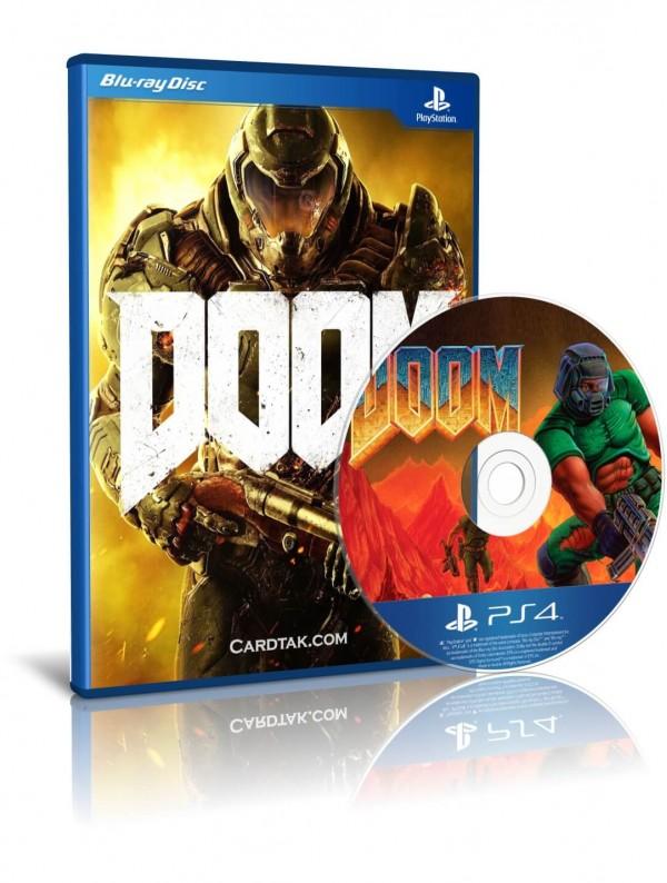 دیسک بازی Doom PS4