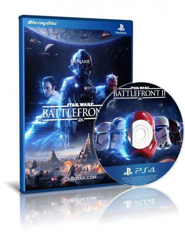 دیسک بازی Star Wars Battlefront 2 PS4