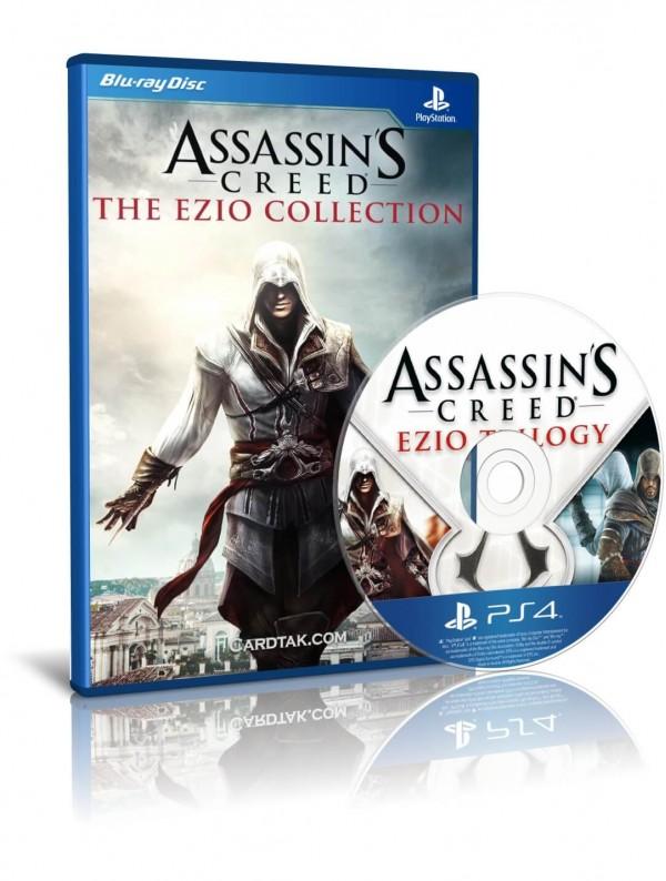 دیسک بازی Assassin's Creed Ezio Collection PS4
