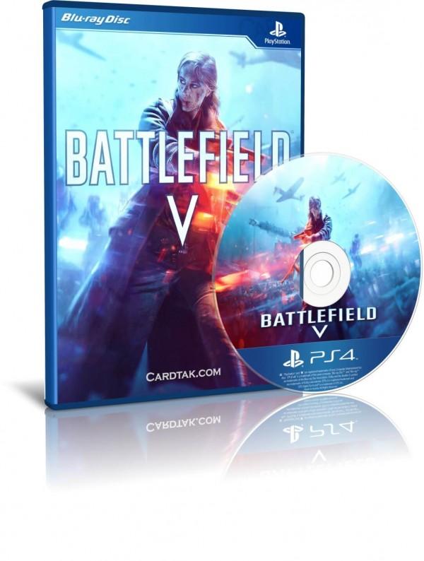 دیسک بازی Battlefield V PS4