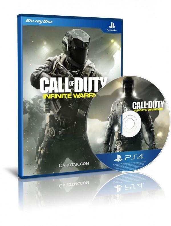 دیسک بازی Call of Duty Infinite Warfare PS4