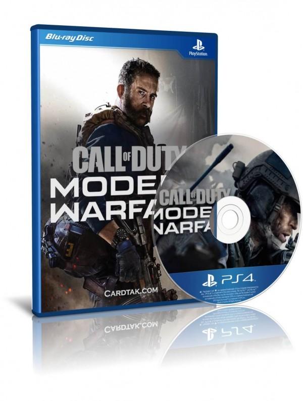 دیسک بازی call of duty modern warfare 2019 PS4