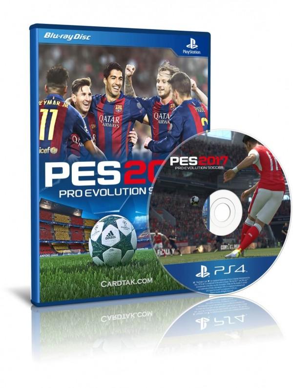 دیسک بازی PES 2017 PS4