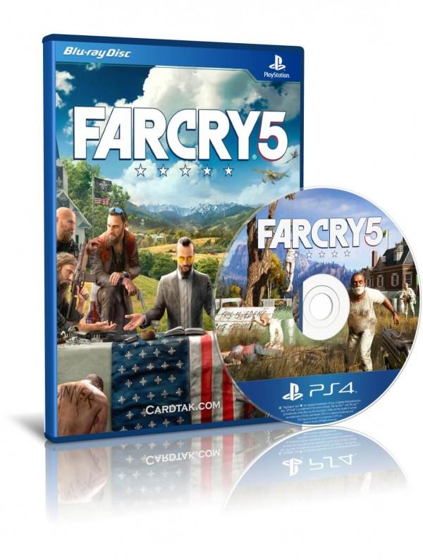 دیسک بازی Far Cry 5 PS4