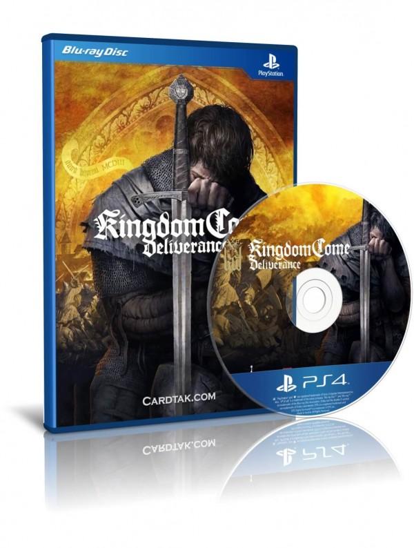دیسک بازی Kingdom Come Deliverance PS4