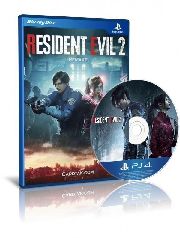 دیسک بازی Resident evil 2 remake PS4
