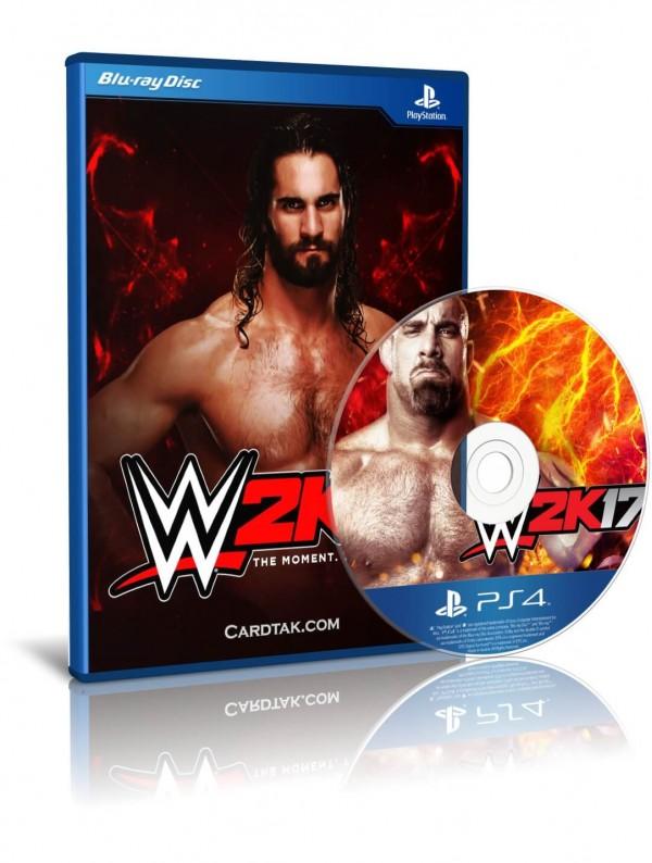 دیسک بازی WWE 2K17 PS4