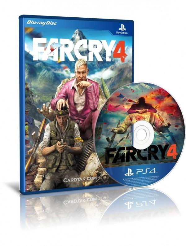 دیسک بازی Far Cry 4 PS4