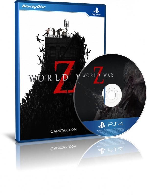 World War Z PS4 Disc