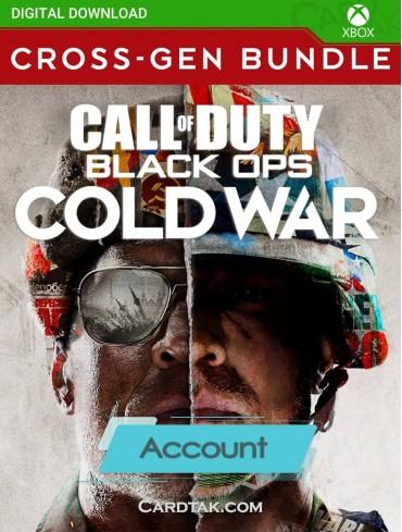 Call of Duty Black Ops Cold War Cross-Gen Bundle (XBOX One/Acc)