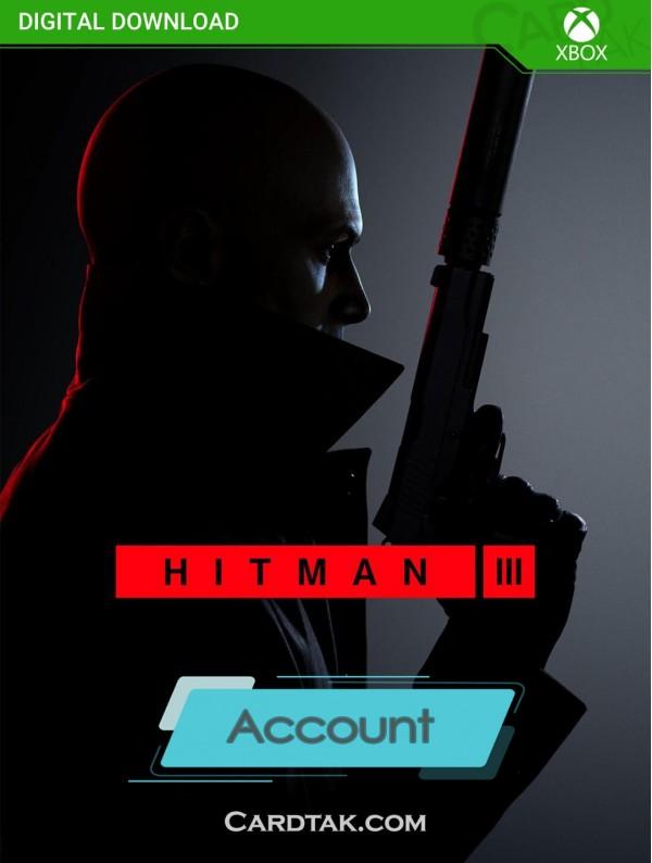 اکانت بازی Hitman 3 XBOX One (هوم/عادی/آفلاین)