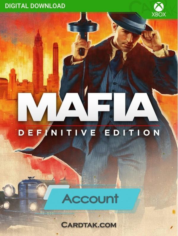 اکانت بازی Mafia Definitive Edition XBOX One (هوم/عادی/آفلاین)