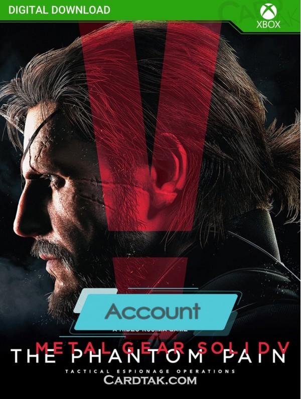 اکانت بازی Metal Gear Solid V The Phantom Pain XBOX One (هوم/عادی/آفلاین)