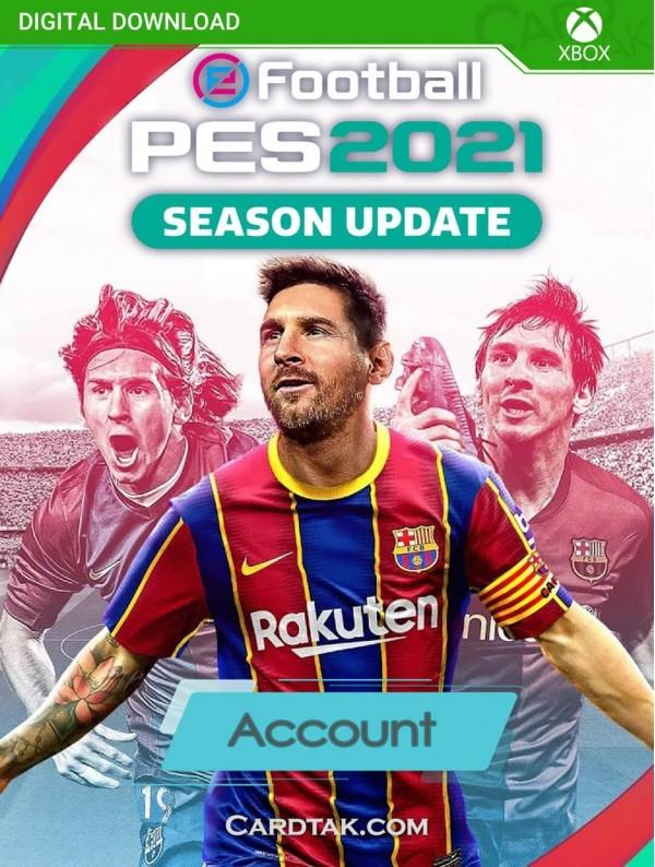 اکانت بازی PES 2021 XBOX One (هوم/عادی/آفلاین)