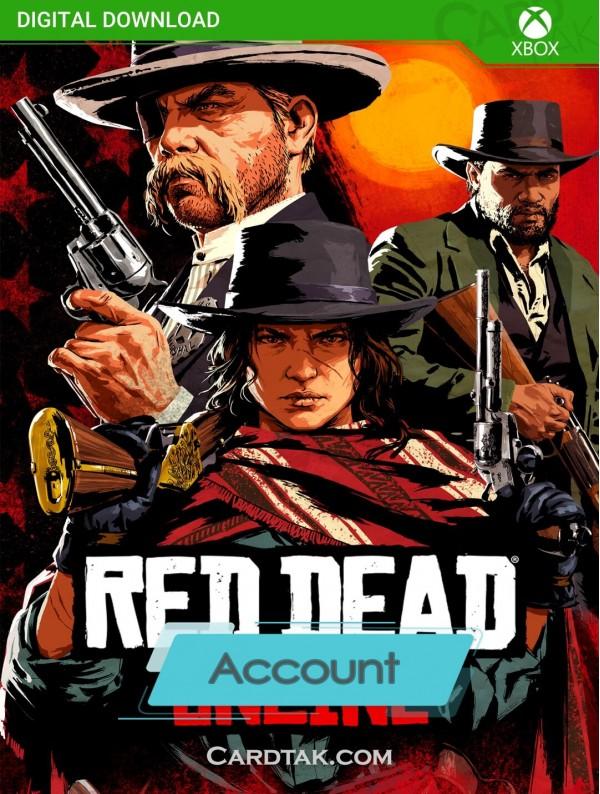 اکانت بازی Red Dead Online XBOX One (هوم/عادی/آفلاین)