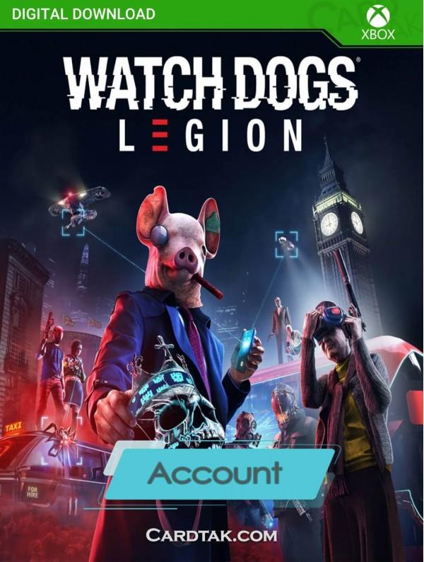 اکانت بازی Watch Dogs Legion XBOX One (هوم/عادی/آفلاین)
