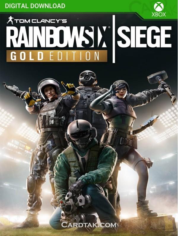 Tom Clancy'S Rainbow Six Siege Gold Edition (XBOX One/Series/Global) CD-Key