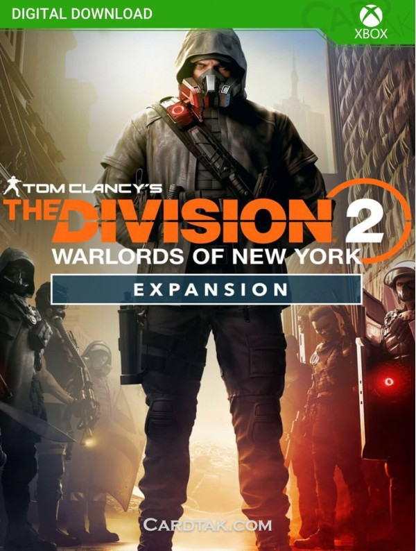 Tom Clancy'S The Division 2 Warlords Of New York Expansion (XBOX One/Series/Global) CD-Key