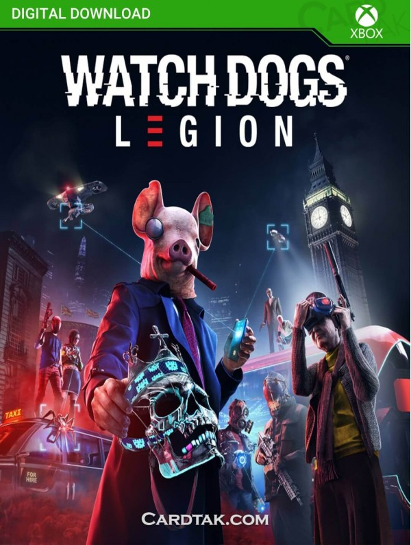 Watch Dogs Legion (XBOX One/Series/Global) CD-Key