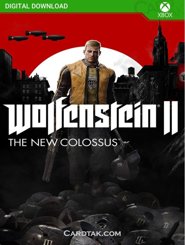 Wolfenstein 2 The New Colossus (XBOX One/Series/US) CD-Key