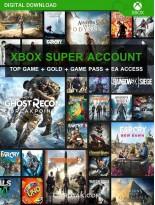 سوپر اکانت ایکس باکس وان (XBOX One/ویژه)