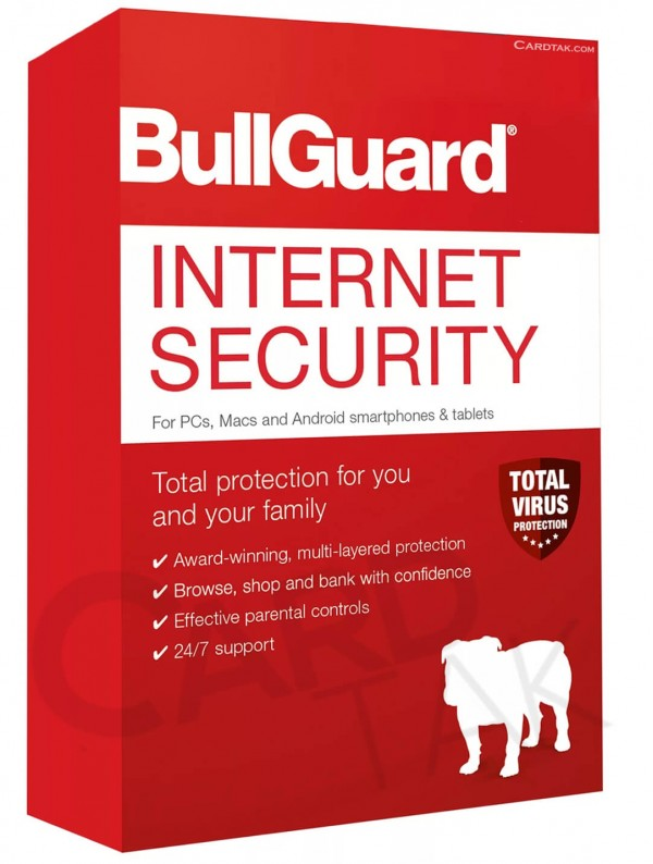 BullGuard Internet Security | 1 PC - 1 Year