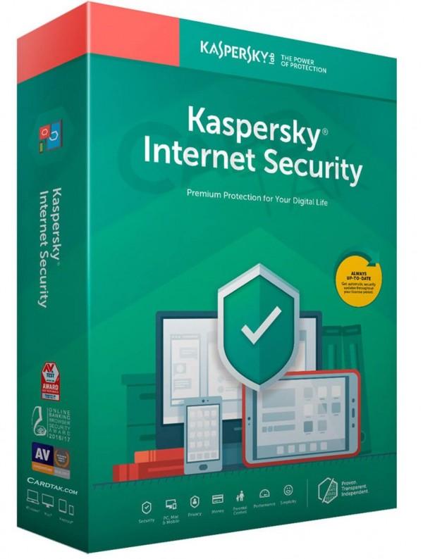 Kaspersky Internet Secruity   1 PC – 1 Year