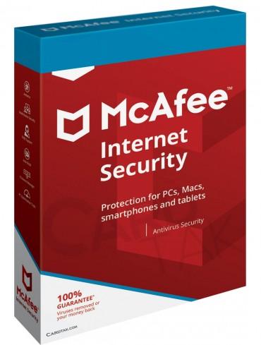 لایسنس آنتی ویروس مک آفی اینترنت سکیوریتی (1کاربره 1 ساله)
