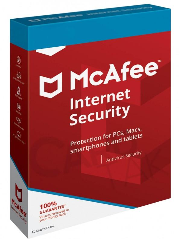 خرید لایسنس آنتی ویروس مک آفی اینترنت سکیوریتی (بهترین قیمت)