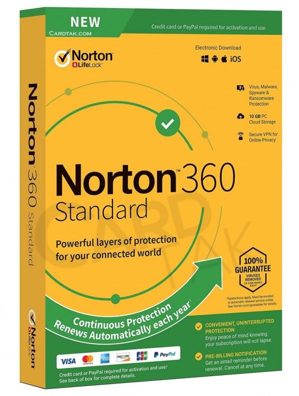 خرید لایسنس آنتی ویروس نورتون 360 استاندارد (بهترین قیمت)