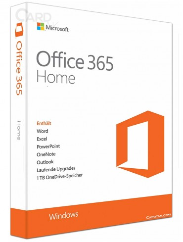 لایسنس مایکروسافت آفیس 365 هوم