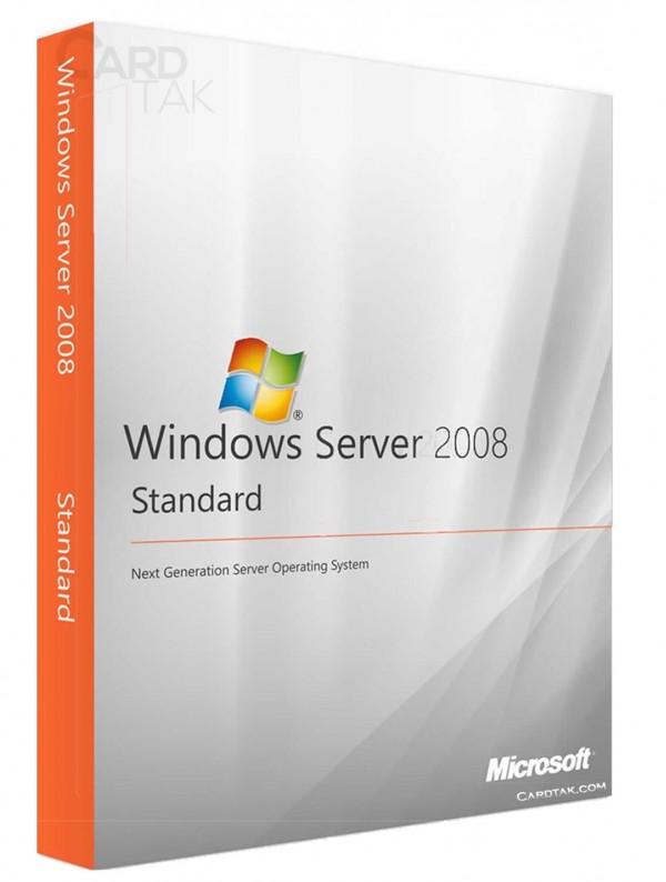 لایسنس ویندوز سرور 2008 استاندارد (ارزان ترین قیمت)